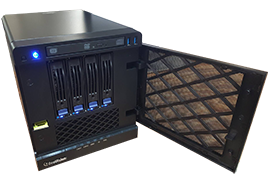 rack-mounted Windows-based camera servers