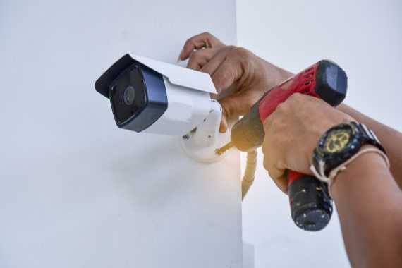 Professional Camera Installation