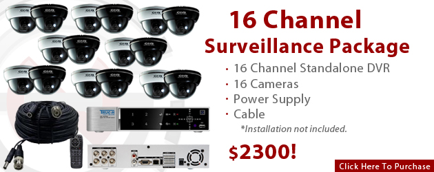 Get Our 16-Channel Package For $2300