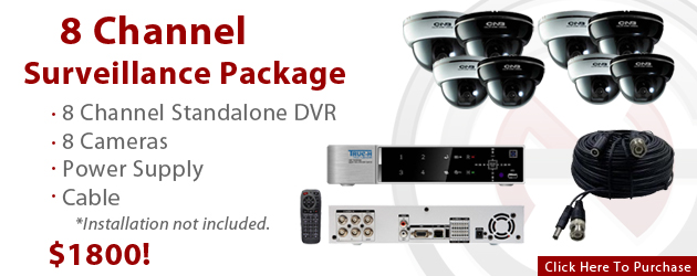 Get Our 8-Channel Package For $1800
