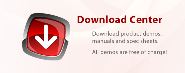 Download Demos and Spec Sheets