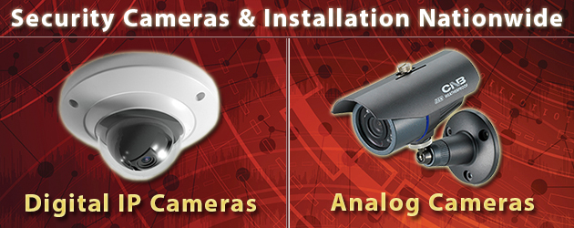 Security Cameras & Installation Nationwide