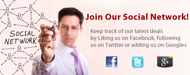 Join Our Social Network